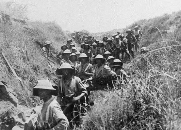 """כיבוש צמד ה""""אחיות"""" – יוני 1918"""