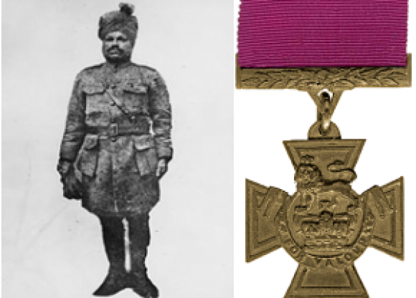 "צלב ויקטוריה אחרון בא""י 23/9/1918"