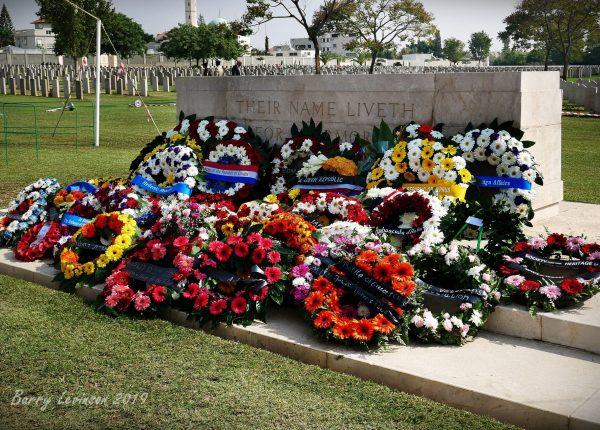 טקס זיכרון בריטי ברמלה – 10/11/2019