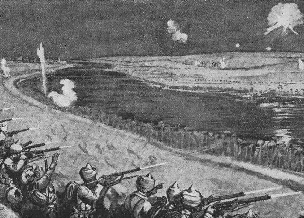הפשיטה על תעלת סואץ 3/2/1915